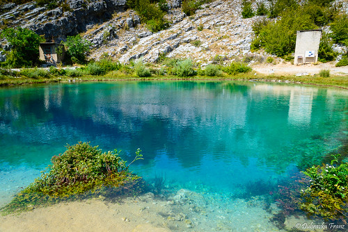 source of the river Cetina