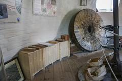 Holgate Windmill stone floor, June 2017 - 1 (nican45) Tags: 04062017 1770 1770mm 1770mmf284dcmacro 2017 4june2017 canon dslr eos70d hwps holgate holgatewindmill june sigma york yorkshire iron mill millstone stonefloor stonesfloor windmill wood