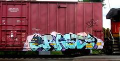 rast RFM (timetomakethepasta) Tags: rast rfm freight train graffiti art boxcar benching selkirk new york photography kamer bnsf