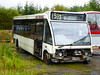 Y257 KNB is an Optare Solo M920 recently acquired for parts by McCall's Coaches, Lockerbie.  It was previously with MacEwan, Amisfield, Dumfries, and is seen on 24 August 2017. (C15 669) Tags: y257 knb mccalls lockerbie