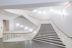 Stairway (GER.LA - PHOTO WORKS) Tags: museum modern museales architecture architektur abstract art abstrakt treppe stairs staircase stairway