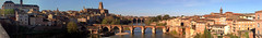 pano-Albi-2 (xtrice) Tags: panoramique vacances albi pont tarn occitanie france ubuntu rawtherapee gimp