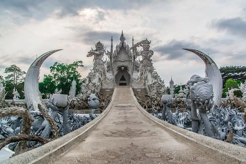 temple blanc chiang rai - thailande