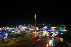 From the Ferris Wheel (HelloLiviaK) Tags: fair champlain valley cvf carnival champlainvalleyfair vermont essex essexjunction summer night nightphoto nightphotography lights ferris ferriswheel ride fairride carousel swings vt 802 explore exploring newengland travel flying urban burlington fun a5000 sony sonya5000 adventure america mirrorless btv