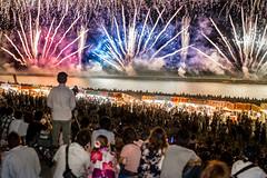 Finale. (Peapotty) Tags: fe festival fireworks 花火 久留米 night sony lowlight matsuri a7ii 55mm kurumeshi fukuokaken japan jp