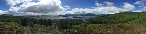 Pano of Loch Lomond
