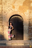 Pose in Falconara 02 (Hiroyuko╠╣Photography ©) Tags: canon 700d hiroyukophotography ritratto chateau castle italie italia italy sicile portrait pose people photographie photo photography model modeling mode light lumière girl fashion femme fille face décor shooting sicily woman visage 2470mmf28liiusm