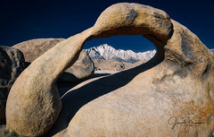 Mobius Arch [in explore] (Six Sigma Man (2.800.000 views)) Tags: alabamahills lonepine california nikon nikond3200 mobiusarch arch desert inexplore greatphotographers greaterphotographers