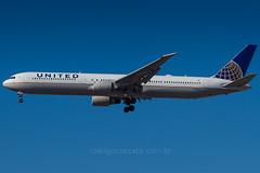 N69063 (rcspotting) Tags: gru sbgr united airlines boeing 767400 n69063