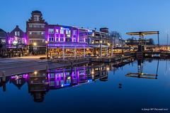 Helmond (McGuiver) Tags: olympus epl5 helmond netherlands horaazul horablava bluehour nightphotography urban urbana cities city noorbrabant reflections reflejos reflexes