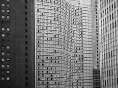 touches IV (szélléva) Tags: abstract architectural architecture geometry japan modern nippon tokyo walls windows bnw blackwhite monochrome
