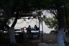 Greek tavern at Aponisos (nohponex) Tags: tavern greek island