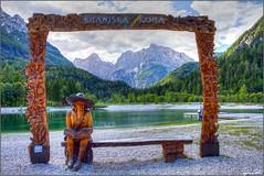 Jasna lake (Luciano Silei - sky7) Tags: kranjskagora slovenia lake alps alpi alpigiulie razor prisojnik lucianosilei canon7d canon1740mm jasna