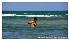 | South Padre Island | July 2017 | (Jose Moncivais) Tags: arena beach coast gulf gulfofmexico humans isladelpadre nature people photography playa rgv riograndevalley sand sea southpadreisland southtexas spi summer summerbreak sun texas verano fishing pescando young man joven
