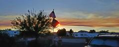 Southwest Arizona Smoke [Explored] -Thank you!!! (VTX-Rider) Tags: az arizona quartzsite sunset smoke