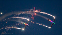 Aerosparx (md93) Tags: aerosparx scottishairshowprestwickayrlowgreenplanes night flying fireworks aerobatics acrobatics ballet 2016 led