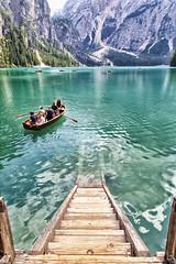 Braies lake (bumbazzo) Tags: lago braies lake trentino alto adige italia italy landscape landscapes paesaggio paesaggi montagna montagne mountain mountains