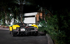 4 of 5 (Alex Penfold) Tags: pagani zonda cinque roadster yellow carbon fibre orange county california alex penfold 2017