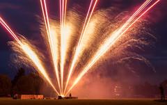 Fireworks after Stratford River Festival 2017 (William Mulryne) Tags: firework fireworks dramatic light dramaticlight unique starwars lasers laser explosion large lightvsdark bluevsred redvsblue