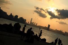 The Shooting Crew (superzookeeper) Tags: canoneos5dmarkiv ef2470mmf28liiusm 5dmk4 5dmkiv hk hongkong leiyuemun sunset people eos photographer seaside sea water digital favorites silhouette