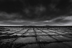 Days gone by (Andy2305) Tags: stdavids airfield blackandwhite monochrome pembrokeshire preselihills raf