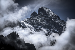 Massif (ScottSimPhotography) Tags: gspaltenhorn switzerland swiss alps alpine mountain mountains rock ice snow hiking climbing murren wengen bern berneseoberland summer clouds travel dramatic moody landscape nature europe sony a6000 gameofthrones lordoftherings high