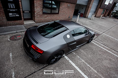 Audi R8 V10 Satin Dark Grey (DUP_Automotive) Tags: audi r8 r8v10 audir8 audir8v10 v10 performance luxurycars bosstoys wrapped wrapping carwrap carwrapping carwrappinguk slammed lowered loweredlifestyle custom customcars satindarkgrey 3mwrap 3mwraps