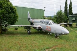 1221 PZL TS-11 Iskra @ Musée Européen de l'Aviation de Chasse 15th June 2016