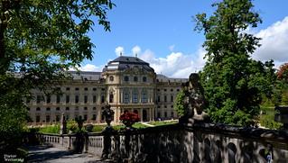 Gartenseite der Würzburger Residenz (2)