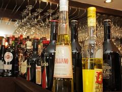 Bottles & Colours (Adam Swaine) Tags: interiors macro canon drink bott bar italian photography penge restaurant uk london