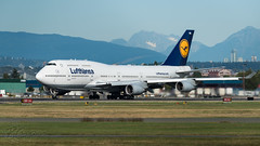 D-ABVM - Lufthansa - Boeing 747-430 (bcavpics) Tags: dabvm lufthansa boeing 747 744 jumbo jet aviation aircraft airliner airplane plane cyvr yvr vancouver britishcolumbia canada bcpics
