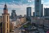 Hauptwache - Frankfurt, Germany (domarffm) Tags: deutschland germany hessen frankfurt skyline hochhaus skyscraper architektur architecture sky gebäude building wolken clouds city stadt himmel hauptwache sony alpha a6300 alpha6300 ilce6300 zeiss sel24f18z commerzbank tower commerzbanktower zeil innenstadt