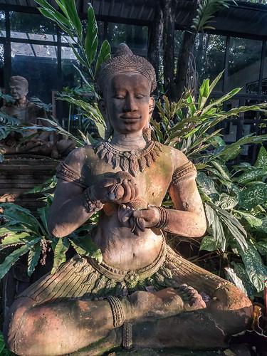 Escultura en el Jardín de Terracota, Chiang Mai, Tailandia