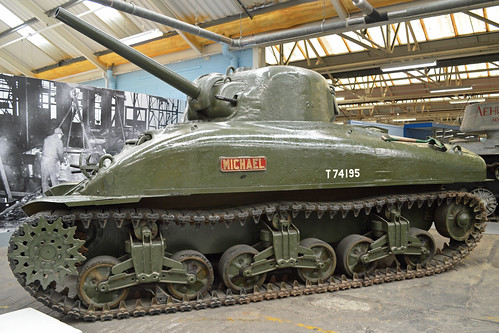 "M4A1 Sherman II 'T74195' ""Michael"""