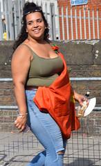 DSC_2977a Notting Hill Caribbean Carnival London Aug 28 2017 Stunning Big Beautiful Woman Blue Jeans (photographer695) Tags: notting hill caribbean carnival london aug 28 2017 stunning lady big beautiful woman