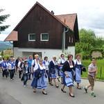 Aufmarsch Hofmarkfest 25.05.2017