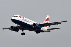 G-EUPN LHR (airlines470) Tags: msn 1261 a319131 a319 a319100 british airways lhr airport geupn
