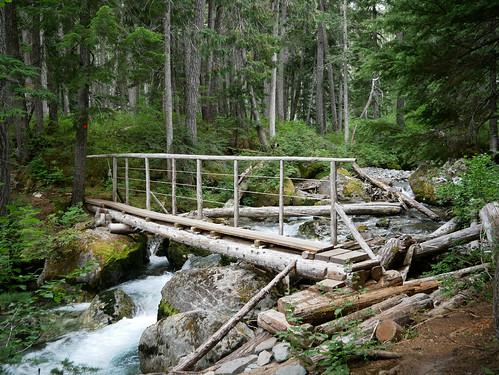 Upper 19 Mile Creek trail - 19 Mile Creek Bridge