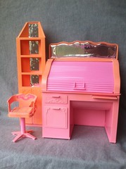 Barbie Living Pretty roll-top desk (Anderson's All-Purpose) Tags: barbiefurniture