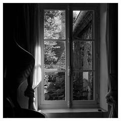 sonate silencieuse... (objet introuvable) Tags: blackandwhite bw nb noiretblanc ambiance moody fenêtre window clair obscur contre jour voile rideau piano violon lumixgx8 light lumière panasonic