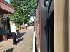 Arley Station, awaiting departure. (mithomas20) Tags: steam heritage railway severnvalley arley