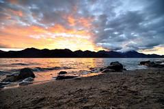 Until we meet again ... (_Amritash_) Tags: himalayas himalayanlandscape himalayansunrise sunrise sunup silhouettes silhouettedmountain morninginhimalayas clouds colors ladakh travel travelinhimalayas pangongtso lake water highaltitudehimalayanlake india