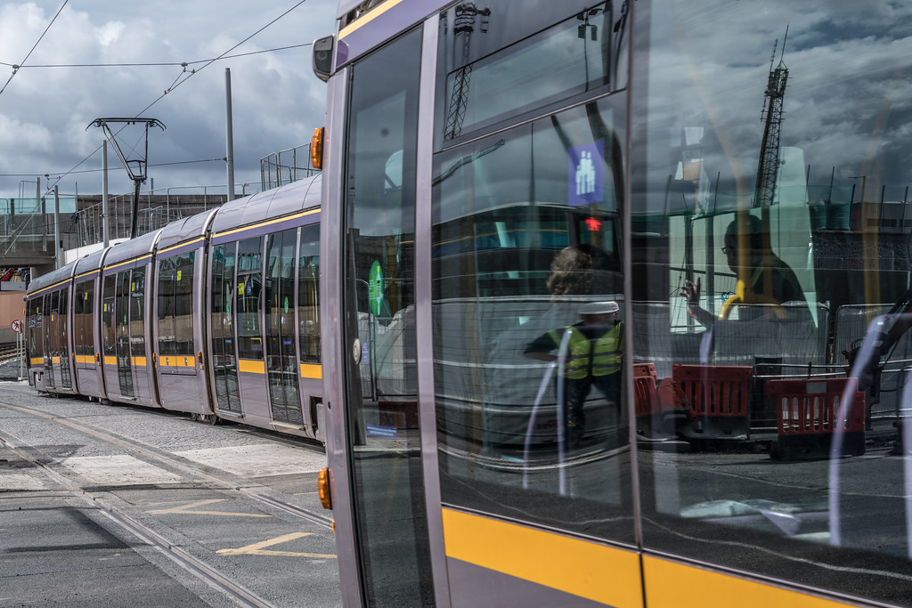 THE NEW LUAS TRAM STOP AT BROADSTONE [TESTING PHASE UNTIL EARLY DECEMBER]-1324704