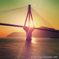 Sunset @ Rio-Antirio Bridge (Costas Arvilias ᕈhotography (CARV)) Tags: hotelphotographer resortphotography hospitalityphotographer hospitalityphotography hotel airbnb travelphotography visitgreece visitgreecegr travelgreece greeceis eclecticshotz artofvisuals randommagazines art deco canvas wallart fineart fineartphotography