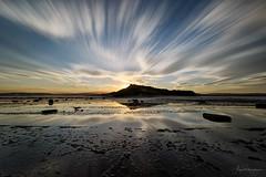 Slipstream (Crouchy69) Tags: sunset dusk landscape seascape coast clouds sky motion long exposure reef headland lookout sydney australia