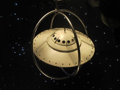 Lost In Space or Plan 9 From Outer Space Fashion 0337 (Brechtbug) Tags: lost in space fashion spaceman cosmonaut suit flying saucers store front display window department madison avenue nyc 2017 moncler near barneys new york city 09162017 bubble helmet russian astronaut men spacemen man plan 9 from outer ed wood windows universe suits astro scifi science fiction stores halloween holiday fashions clothes outfit flight orbital saucer above galaxy nine