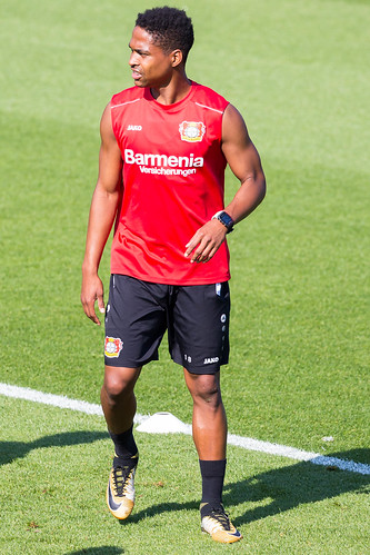 Wendell beim Training - Bayer 04 Leverkusen