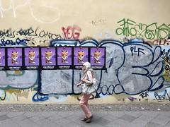 ostmost (malstad) Tags: streetphotography posters graffiti streetart woman street urban berlin kreuzberg