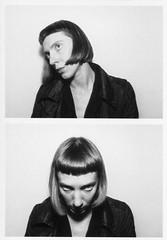 self (nastyadenisova) Tags: 2017 saintpetersburg blackandwhite self selfportrait photobooth
