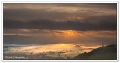 ABC_4907 -Explored (Lynne J Photography) Tags: peakdistrict winnats pass colors mist inversion clouds sunrise morning peak district
